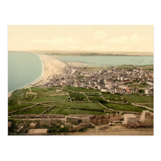 Chesil Beach, Portland, Dorset, England Postcard