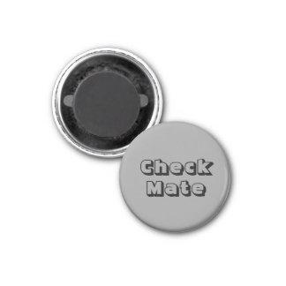 Chess 1-1 4 Fridge Magnet Silver s Check Mate