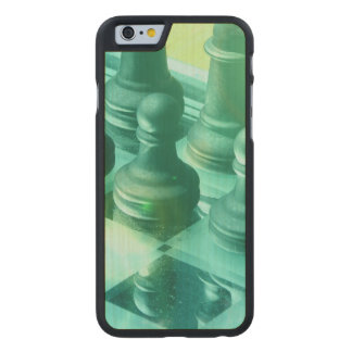 chess-25 carved® maple iPhone 6 case