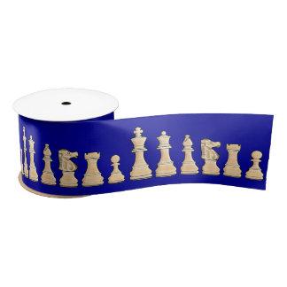 Chess 3 Inches Satin Ribbon