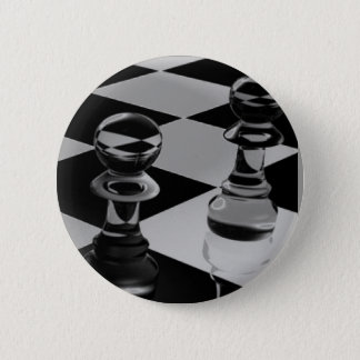 Chess 6 Cm Round Badge