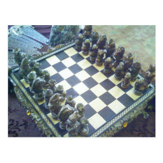 Chess...a Classic! Postcard