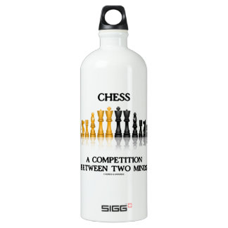 Chess A Competition Between Two Minds (Chess Set) SIGG Traveller 1.0L Water Bottle