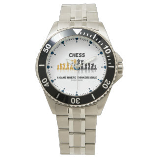 Chess A Game Where Thinkers Rule Reflective Chess Watch
