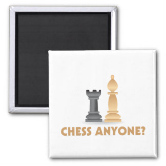 Chess Anyone Chess Pieces Magnet