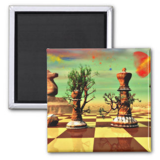 Chess Art Refrigerator Magnet