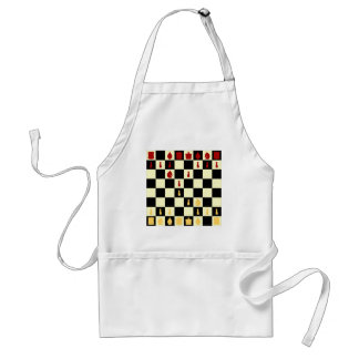 Chess Board Aprons