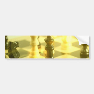 Chess Board Bumper Sticker