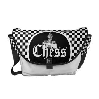 Chess Board Designer Bag Courier Bags