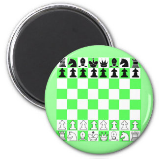 Chess Board Game Refrigerator Magnets