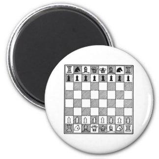 Chess Board Refrigerator Magnet