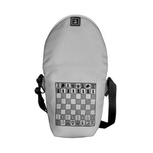 Chess Board Messenger Bags