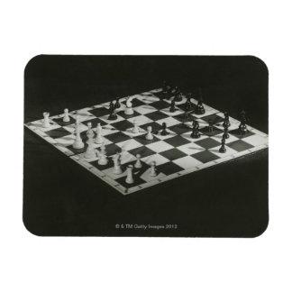 Chess Board Vinyl Magnet