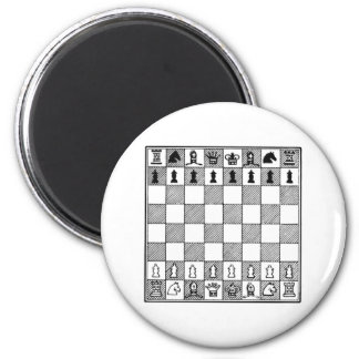Chess Board Refrigerator Magnet
