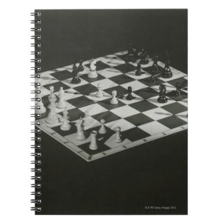 Chess Board Spiral Notebook