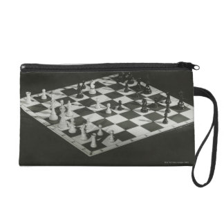Chess Board Wristlet