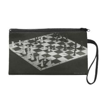 Chess Board Wristlet Purses