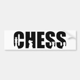 Chess Bumper Sticker