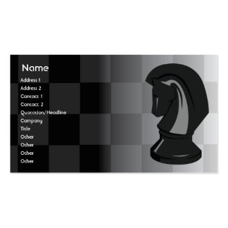 Chess - Business Double-Sided Standard Business Cards (Pack Of 100)
