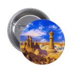 Chess Castle 6 Cm Round Badge