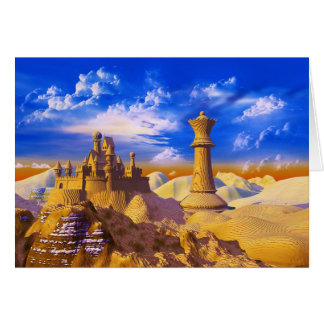 Chess Castle Card