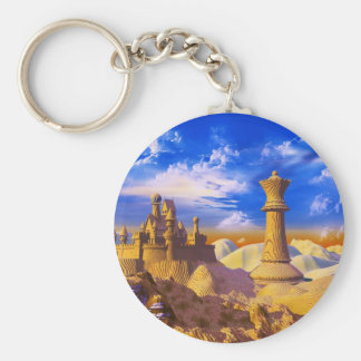 Chess Castle Key Ring