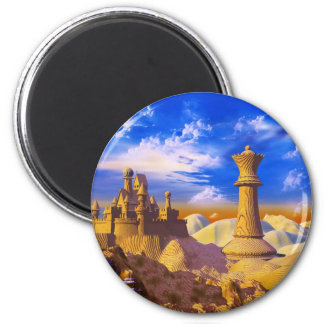 Chess Castle Magnets