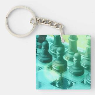 Chess Champ Keychain