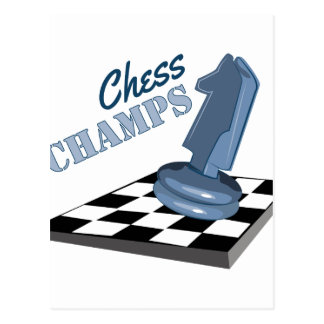 Chess Champs Postcard