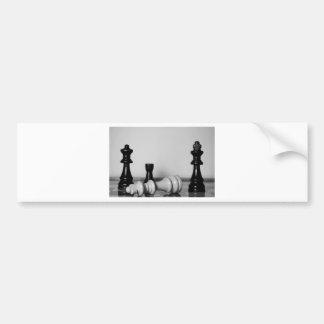Chess Checkmate Bumper Sticker