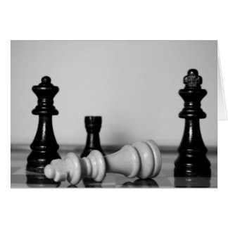 Chess Checkmate Card