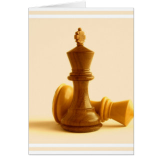 Chess Checkmate  Greeting Card