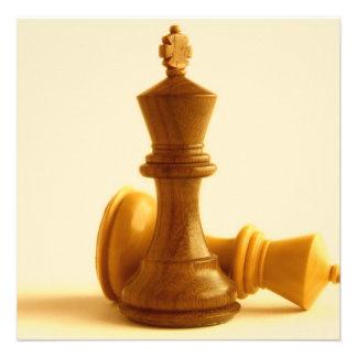 Chess Checkmate Invitations