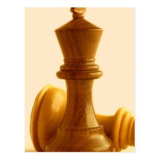 Chess Checkmate Postcard