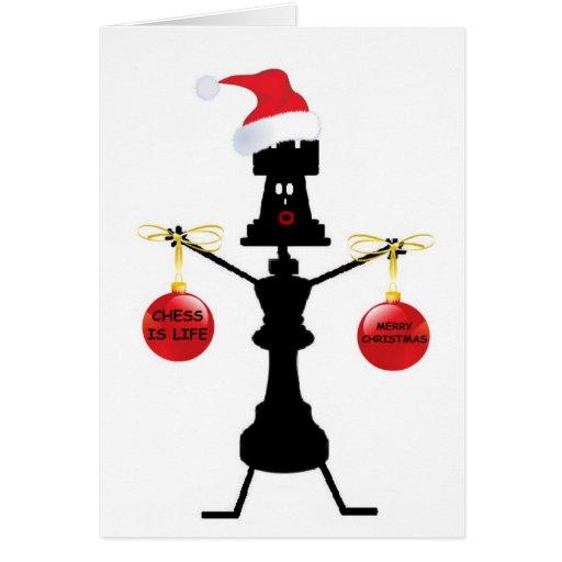 Chess Christmas Card
