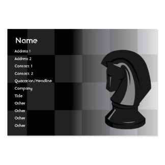 Chess - Chubby Business Card Template
