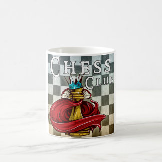 Chess Club Basic White Mug