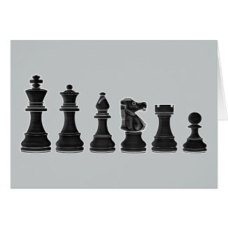 Chess Coach Thank-You Greeting Card