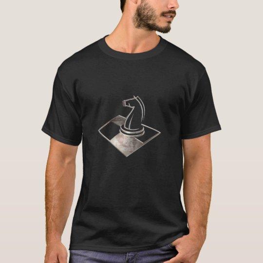 Chess; Cool Black T-Shirt