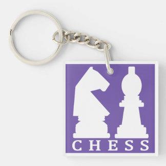 CHESS custom color key chain