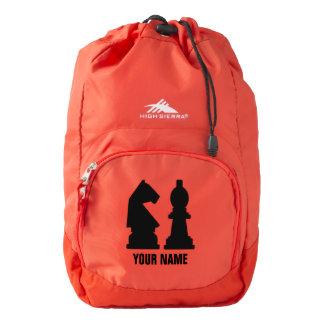 CHESS custom monogram backpacks Backpack