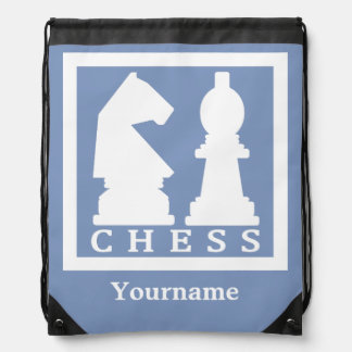 CHESS custom monogram & color backpack