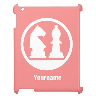 CHESS custom monogram & color cases iPad Covers