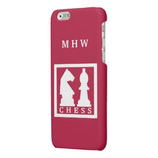 CHESS custom monogram & color phone cases iPhone 6 Plus Case