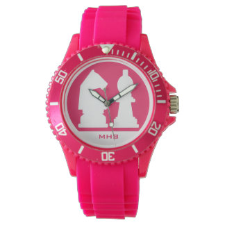 CHESS custom monogram & color watches