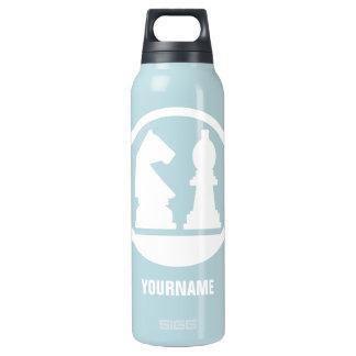 CHESS custom monogram Insulated Water Bottle