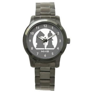 CHESS custom monogram watches