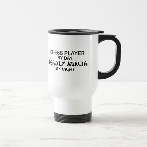 Chess Deadly Ninja by Night Mugs