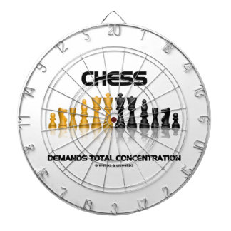 Chess Demands Total Concentration Chess Set Dart Boards