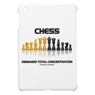 Chess Demands Total Concentration (Chess Set) Cover For The iPad Mini